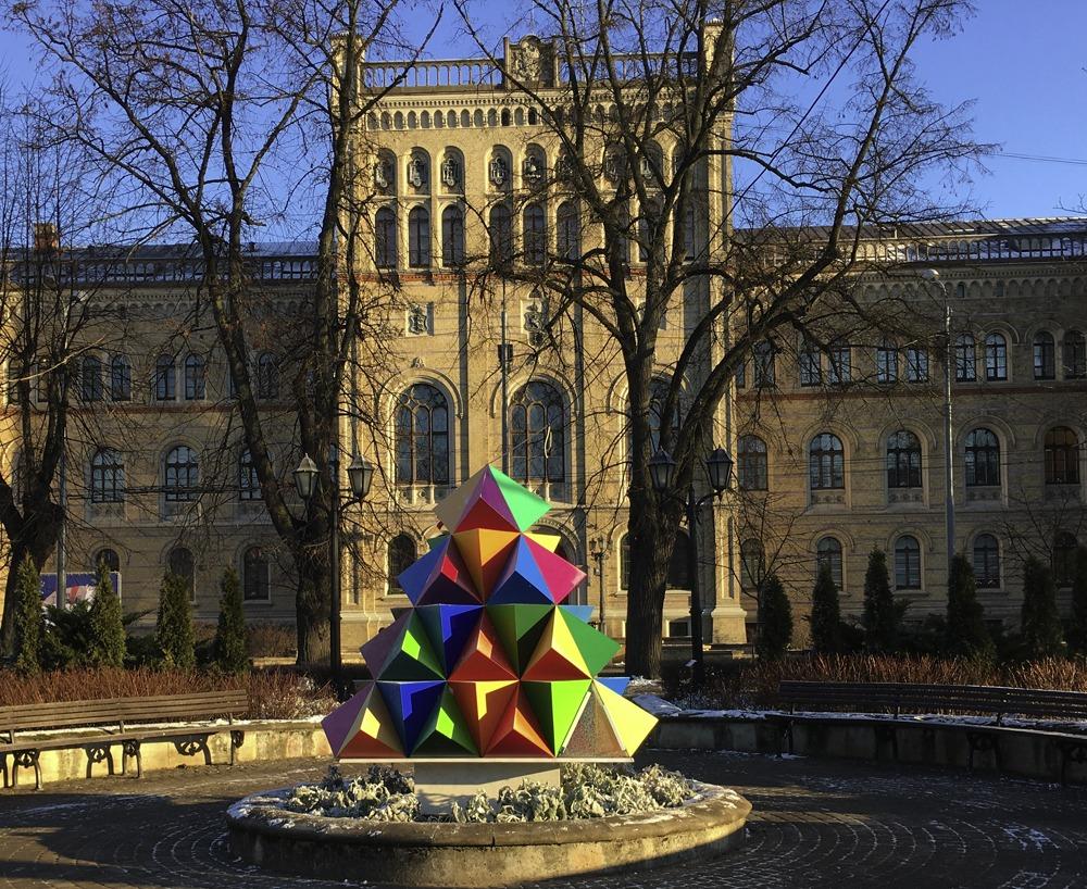 Bunte Kunst in Riga