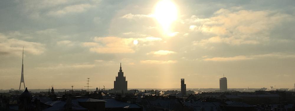 Über den Dächern von Riga. ©HerrundFrauBayer
