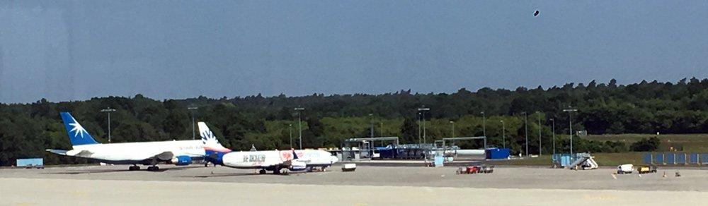 Mit dem Lütten am Flughafen Köln/Bonn